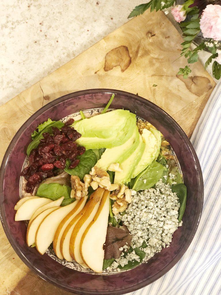 Avocado and Pear Salad