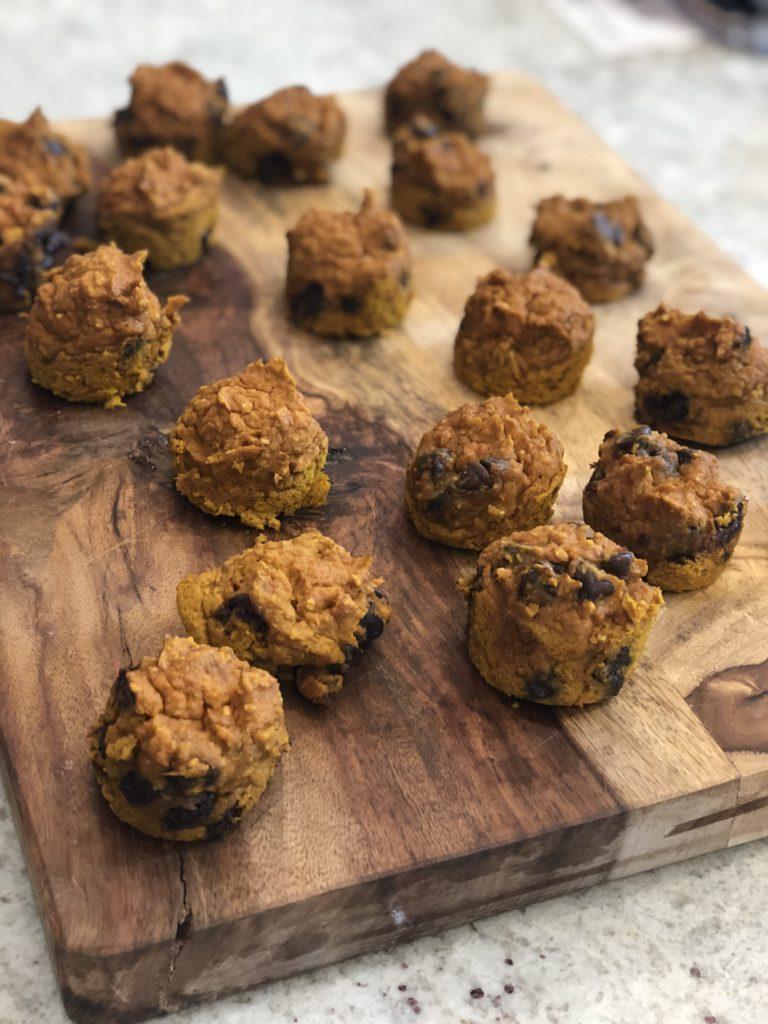 Pumpkin Oat Mini Muffins