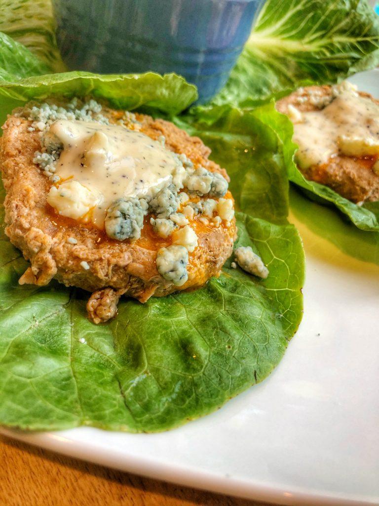 Easiest Buffalo Turkey Burgers