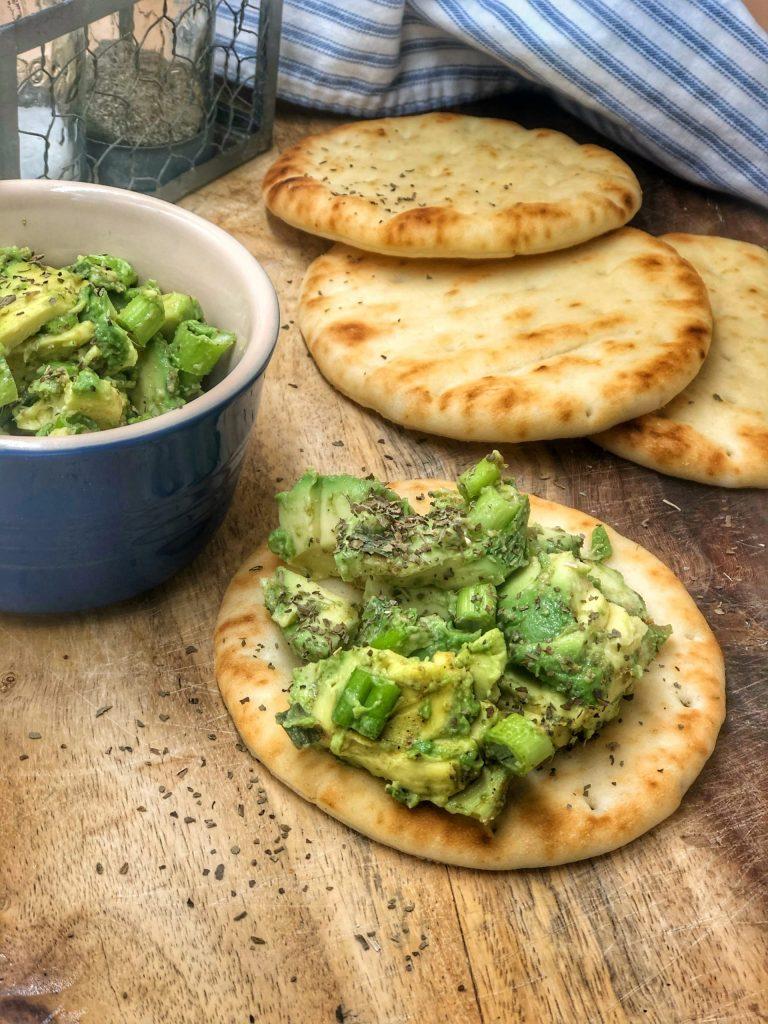 Avocado and Scallion Salsa