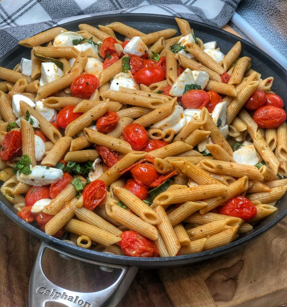 Cherry Tomato and Garlic Penne